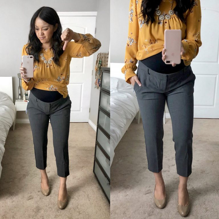 old navy pixie pants review