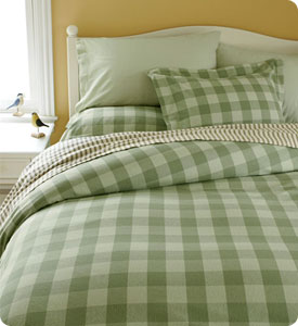 ll bean flannel sheets review