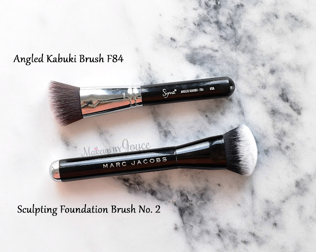 marc jacobs foundation brush review