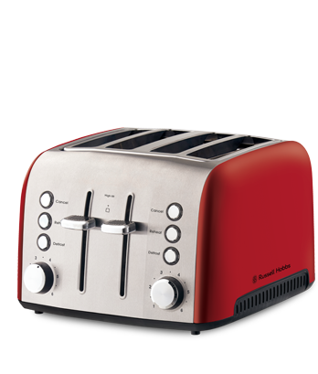 russell hobbs heritage 4 slice toaster review