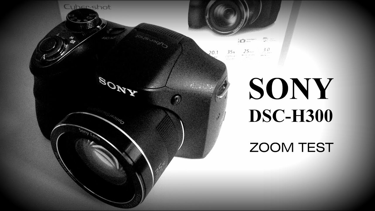 sony dsc h300 review youtube